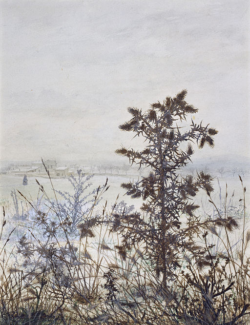 Léon_Bonvin_-_Thistles_and_Weeds_-_Walters_371519