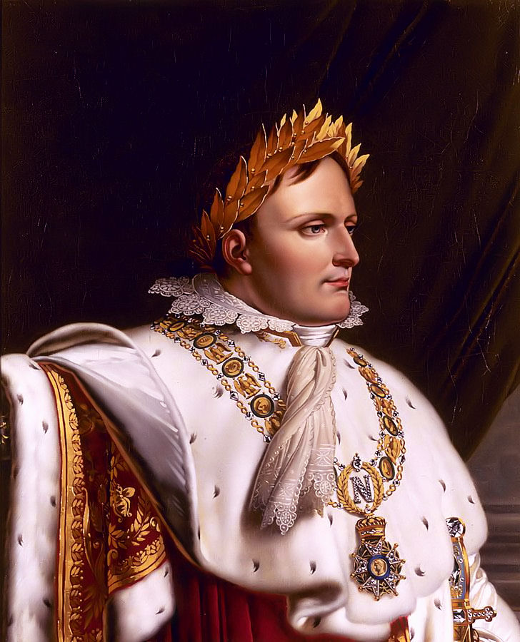 Marie Victoire Jaquotot (1772-1855): Portrait of Napoleon in Coronation Robes