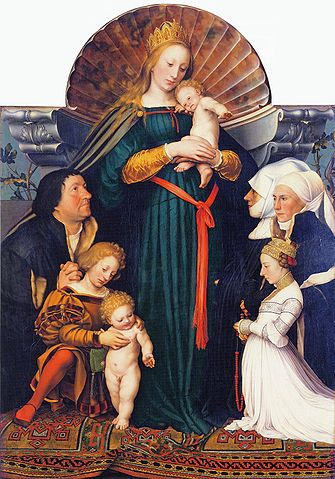 MadonnaHans_Holbein_the_Younger