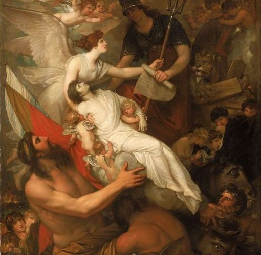 "Benjamin West (1738–1820): ""The Immortality of Nelson."""