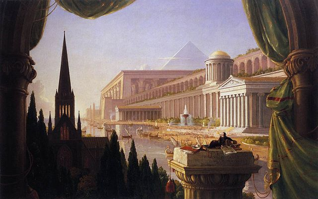 Thomas Cole (1841-1848): The Architect's Dream. One thing that separates a vision and the dream is that leaders bring about their vision in the real world.